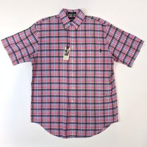 Daniel Cremieux Classic Fit Plaid Shirt Medium
